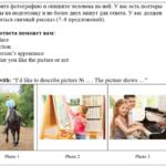 ВПР по английскому языку (7 класс). Описание картинки: разбор задания, ответы на пятёрку